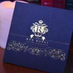 Zlaté logo na balení rdb royal