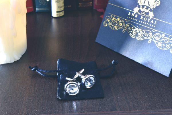 b9b30e63b Manžetové Gombíky, Swarovski Krištáľ – Royal Diamond – RDB Royal