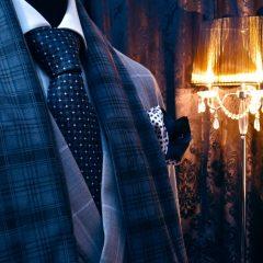 Hodvábny darčekový set zo šálu, kravaty, vreckoviek a gombíkov swarovski